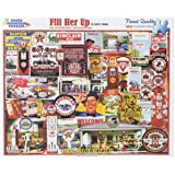 White Mountain Puzzles Fill Her Up - 1000 Piece Jigsaw Puzzle