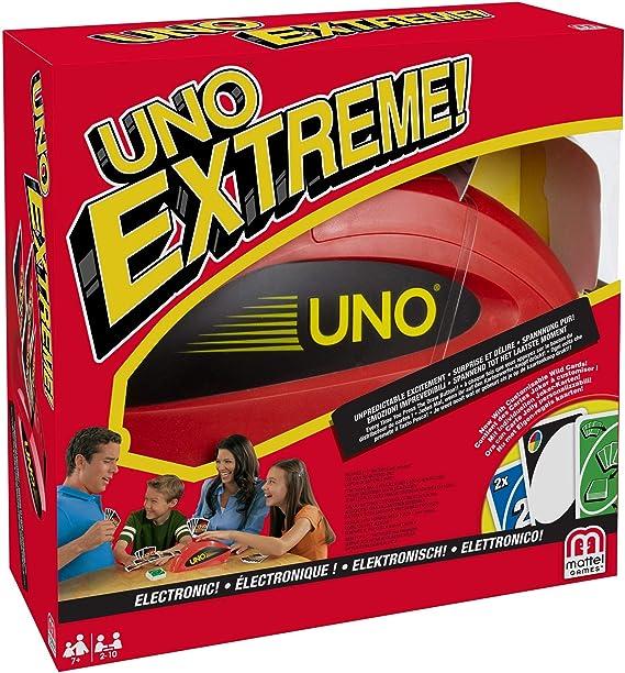 Mattel Games Uno extreme, juego de cartas (Mattel V9364): Amazon ...