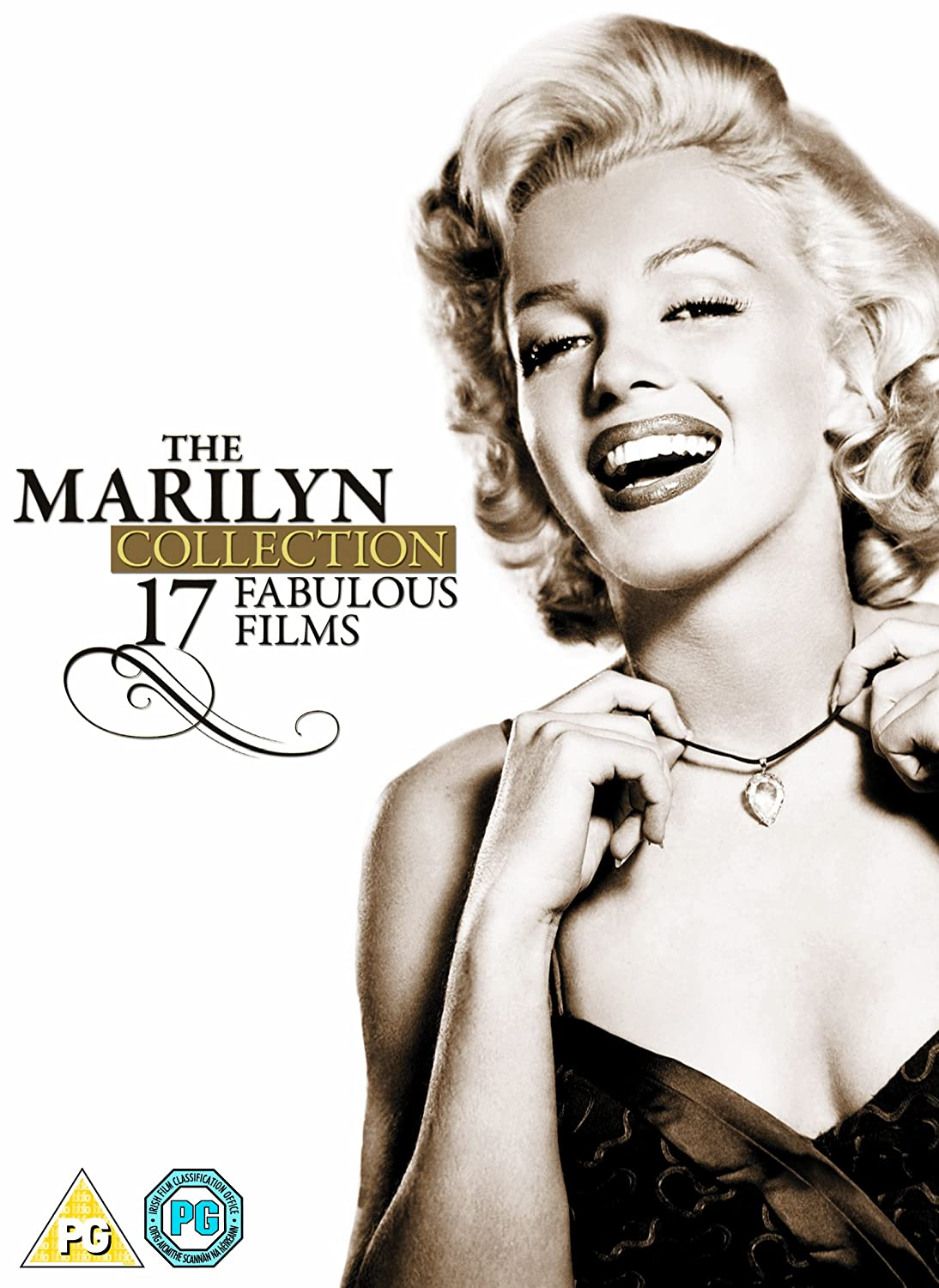 Marilyn Monroe: The Marilyn Collection - 17 Fabulous Films DVD 1950 ...