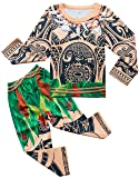 Filare Moana Maui Costume Boys Pajamas Sets