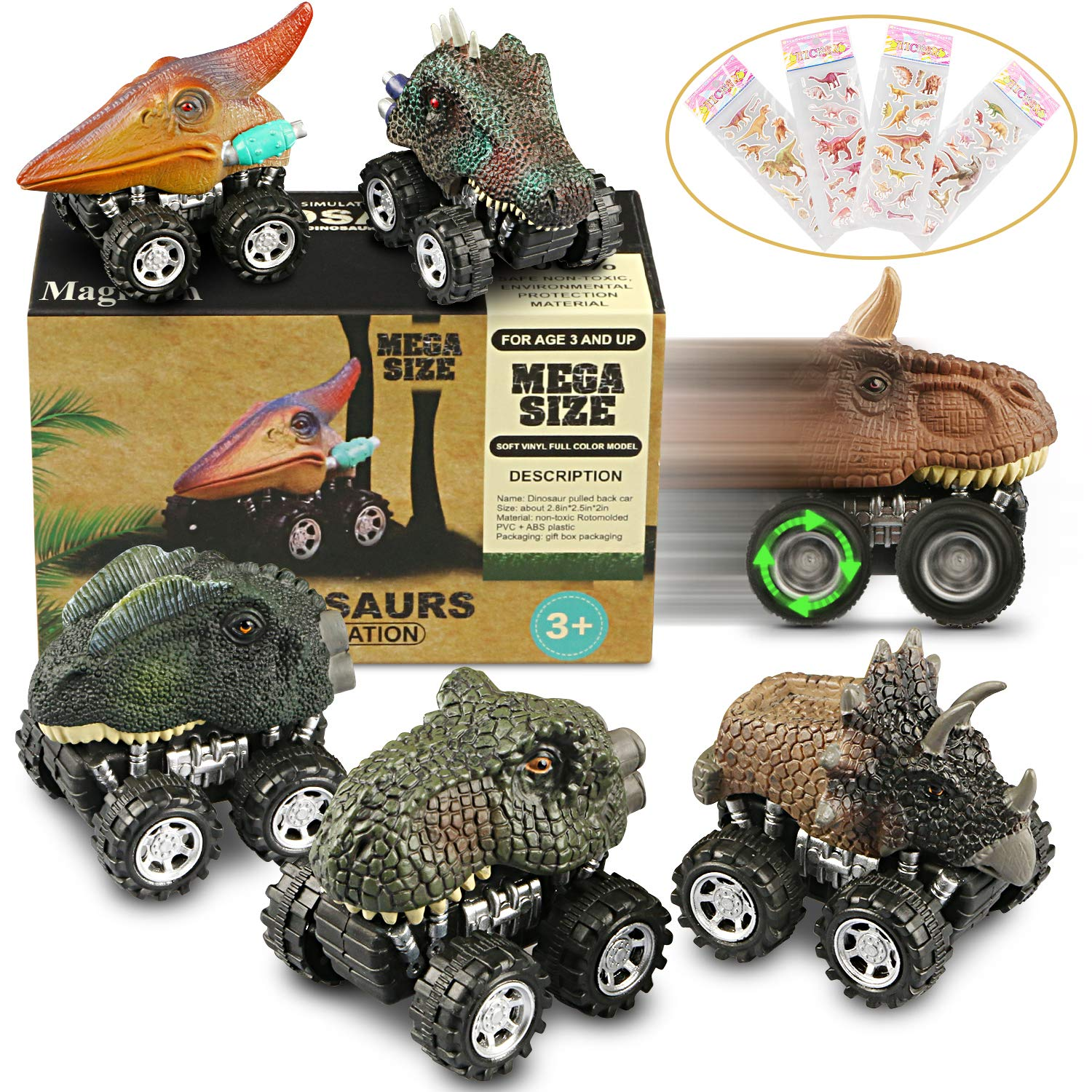 Fun little dino cars