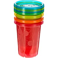 The First Years Take and Toss Spill-Proof Straw Cups, 10oz, (Pack of 4)