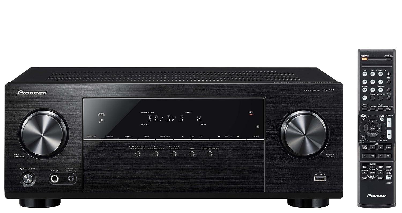 Pioneer Surround Sound A/V Receiver - Black (VSX-532) VSX532