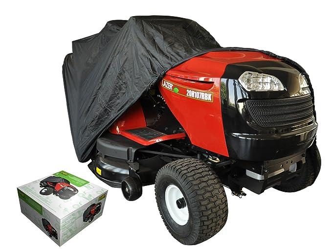 Funda protectora para tractor cortacésped de descarga lateral del césped: Amazon.es: Jardín