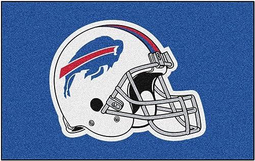 FANMATS NFL Buffalo Bills Nylon Face Ultimat Rug