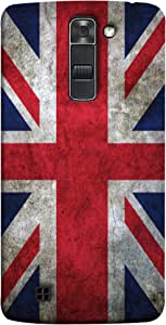 ColorKing Football England 12 Multicolor shell case cover for LG K10
