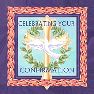 Celebrating Confirmation Dove Cross 20 Count 3-Ply Paper Luncheon Napkins Pack of 2