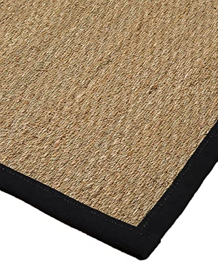NaturalAreaRugs Mayfair Collection Natural Seagrass Fiber Area Rug,  Handmade In USA, 100% Seagrass