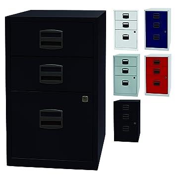 pfa beistellschrank | büro schubladenschrank mit 3 schubladen aus ... - Schubladen Ordnungssystem Küche