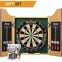 Harrows Pro's Choice Dartboard & Cabinet Complete Set