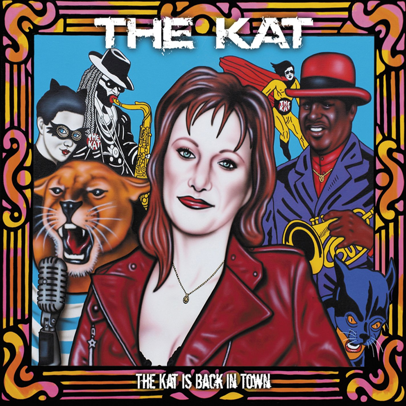 CD : The KAT - The Kat Is Back In Town (Digipack Packaging)