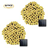 Amazon Price History for:Vmanoo 2 Pack Solar String Lights 72 Feet 22 Meter 200 LED 8 Modes Christmas Fairy Lighting For Outdoor Indoor Garden Patio Lawn Party Decoration Waterproof ( Warm White)