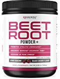 Havasu Nutrition Beet Root Powder with Patented, Organic PeakO2 & Mushroom Blend- Supports Workout Recovery & Promotes…