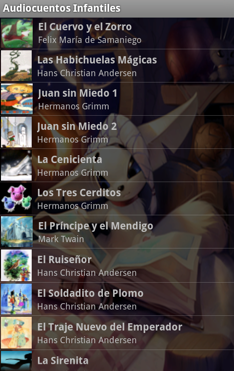 Amazon.com: Audio Cuentos Infantiles: Appstore for Android