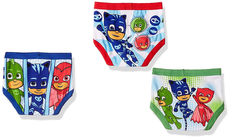 Amazon.com: PJ Masks Boys 7-Pack Brief Underwear, TBOY-Multi, 2T/3T: Clothing