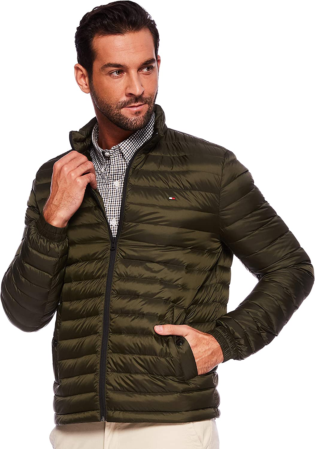 Tommy Hilfiger Light Weight Packable Down Bomber Chaqueta Hombre