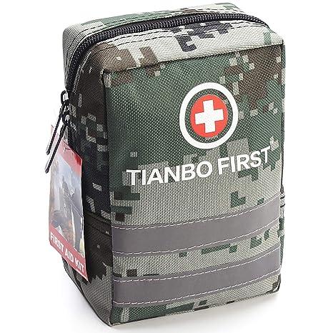 Amazon.com   120 Pieces First Aid Kit, Tactical Trauma Kit ... f764bf76f4