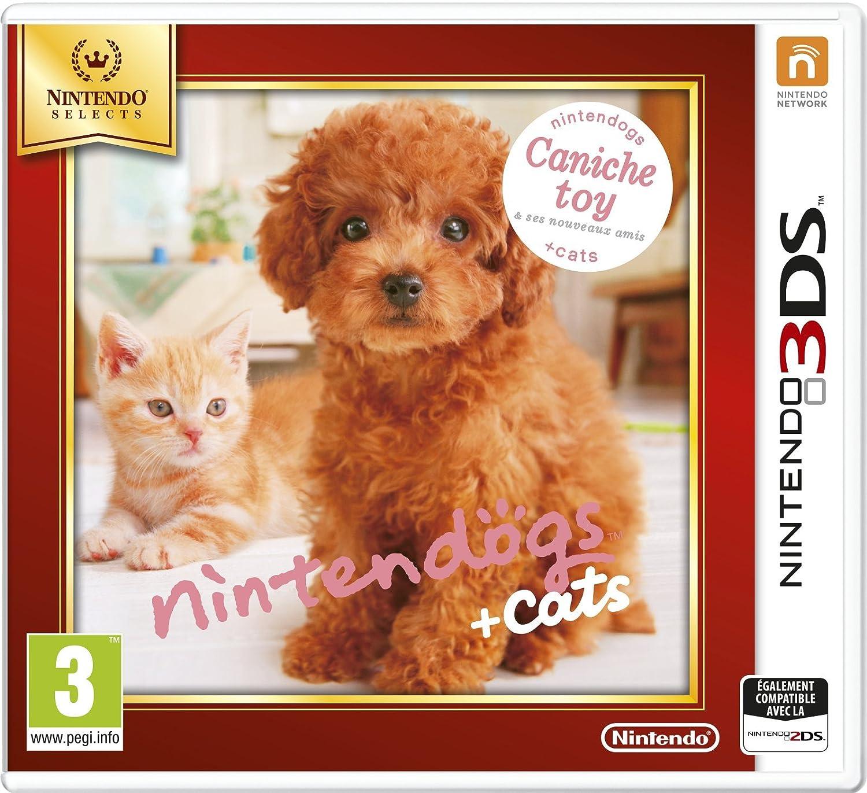 Nintendogs Cats Caniche Toy Ses Nouveaux Amis Nintendo Selects