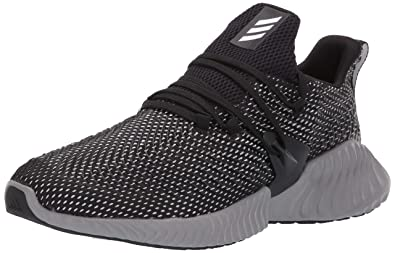 the best attitude 87fd2 aa598 adidas Mens Alphabounce Instinct, BlackWhiteGrey 6.5 M US