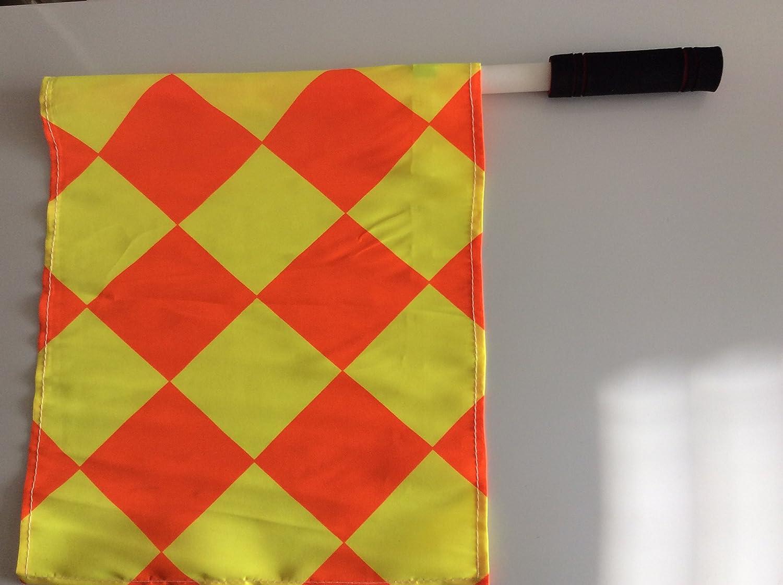 Ensemble de drapeaux pour juge avec sac–Football, Rugby, hockey, formation d'arbitre drapeaux Must4Sport