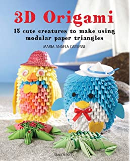 3D Origami 15 Cute Creatures To Make Using Modular Paper Triangles