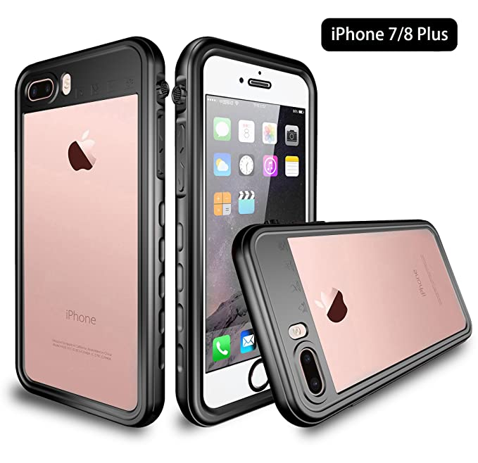 best website 28c05 13426 Amazon.com: iPhone 8 Plus/iPhone 7 Plus Waterproof Case, UZER Shell ...