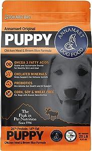 Annamaet Original Puppy Dry Dog Food, (Chicken & Brown Rice)