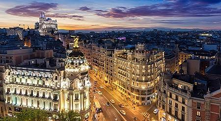 Rompecabezas Rompecabezas 1000 Piezas Puzzles El Skyline De Madrid ...