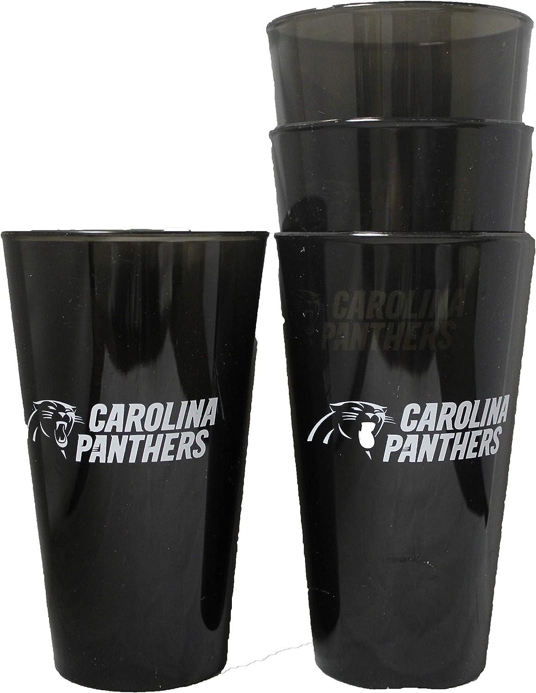 Boelter Carolina Panthers 16oz Plastic Pint Set of 4