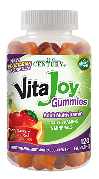 21st Century Vitajoy Multi Gummies, Orange, Cherry and Strawberry, 120 Count