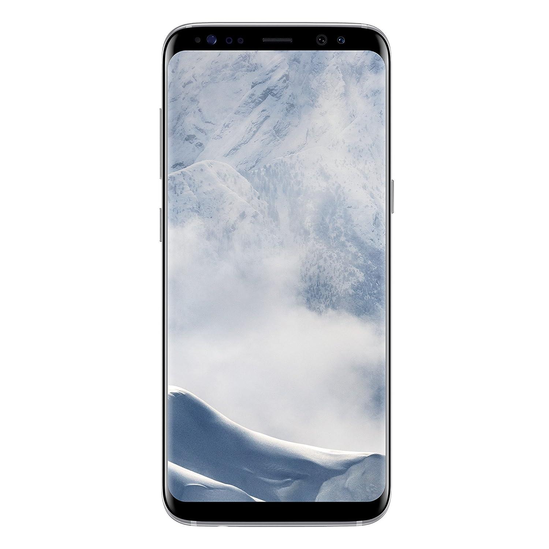 Samsung Galaxy S8 - Smartphone libre (5.8'', 4GB RAM, 64GB, 12MP), Plata, - [Versión italiana: No incluye Samsung Pay ni acceso a promociones Samsung Members]