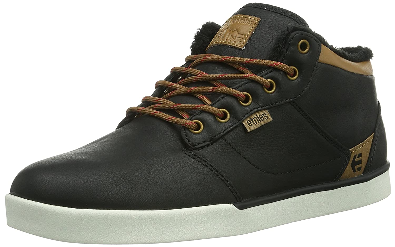 Etnies JEFFERSON MID LX SMU - Zapatillas De Skate de cuero hombre 45 EU|Negro - Schwarz (590/Black/Brown)