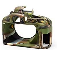 D3500 CAMO Silicone Cover with Tempered Glass