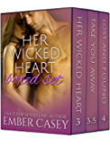 Her Wicked Heart Boxed Set: A Cunningham Family Bundle (Volume 2)