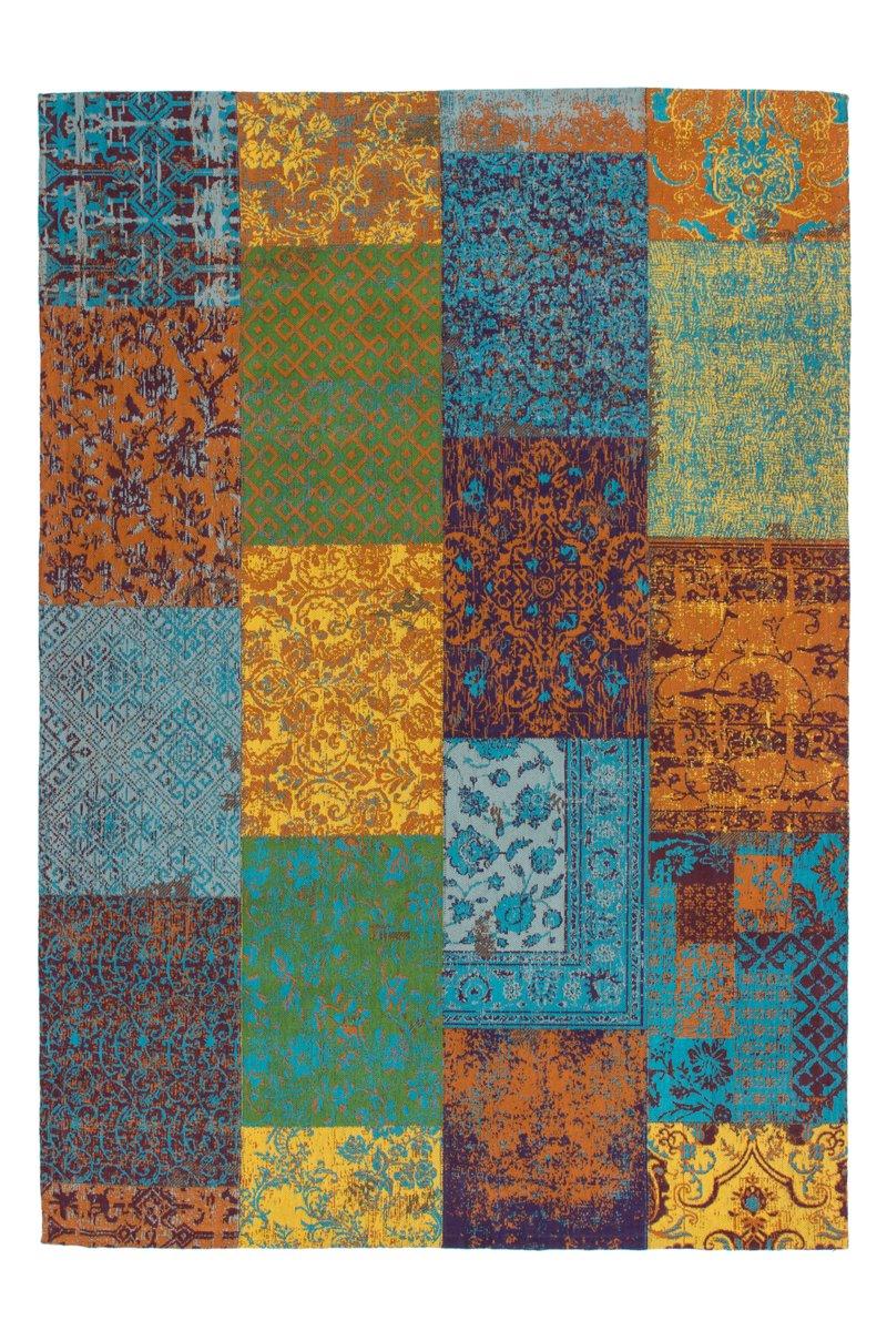 Lalee Teppich Wohnzimmer Carpet modernes Design Patchwork Rug Symphony 160 Multi Chenille 120x170cm   Teppiche günstig online kaufen