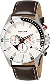 Fastrack Big Time Analog White Dial Men's Watch -NK3072SL01