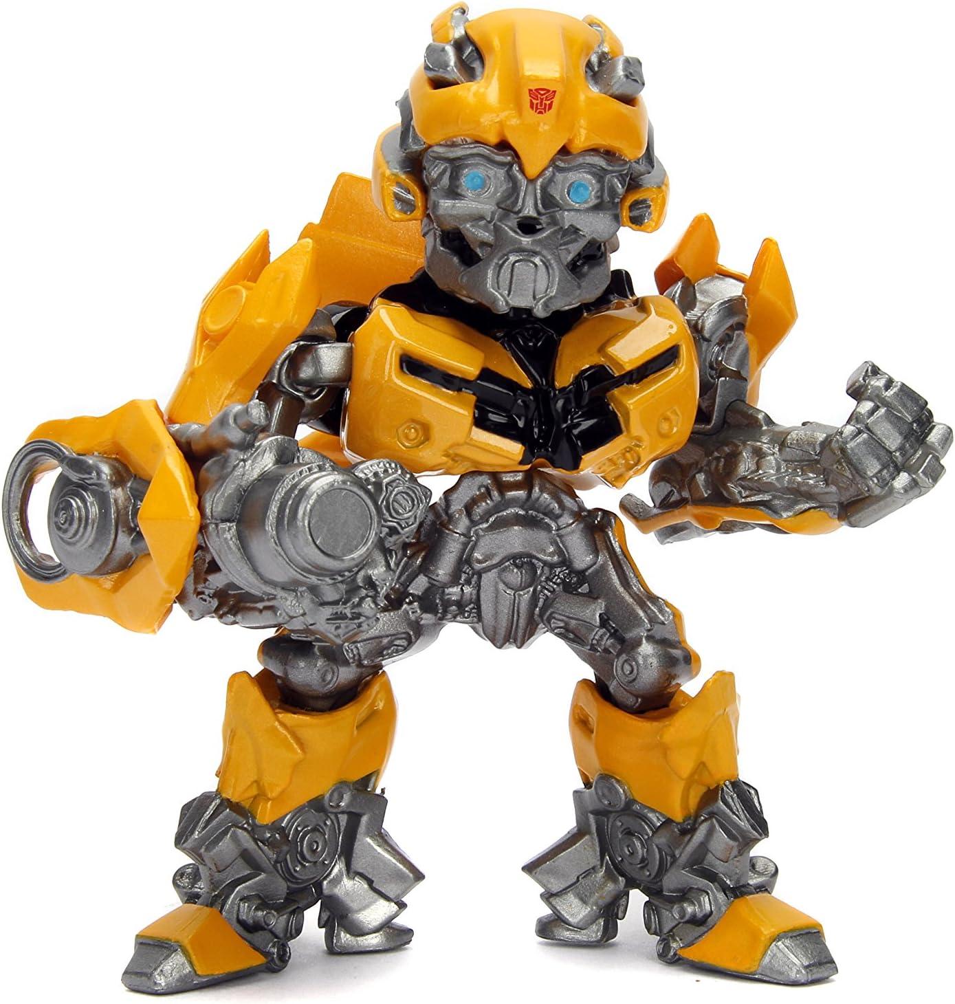 "JADA TOYS 4/"" metalfigs Transformers Last Knight Bumblebee M408"