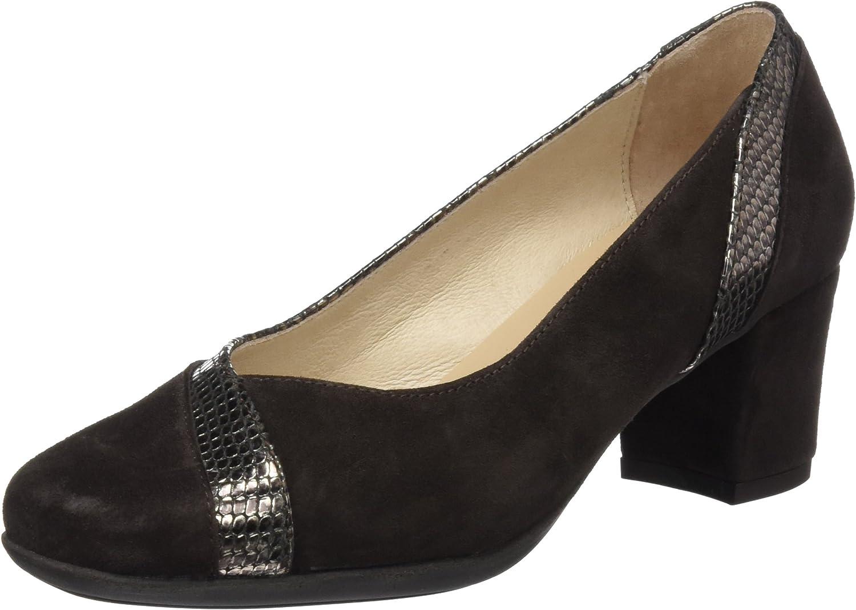 TALLA 36 EU. DCHICAS 1566, Zapatos de tacón con Punta Cerrada para Mujer