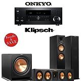 Onkyo TX-RZ900 7.2-Channel Network Home Theater Receiver + Klipsch RP-260F + Klipsch RP-440C + Klipsch R-112SW - 3.1 Reference Premiere Bundle