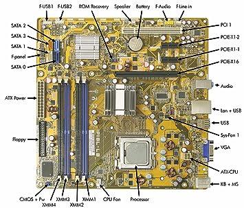 amazon com 462797 001 hp compaq motherboard dx2400 g33 ipibl lb rh amazon com HP Dx2400 Motherboard Specs HP Dx2400 Memory Specs