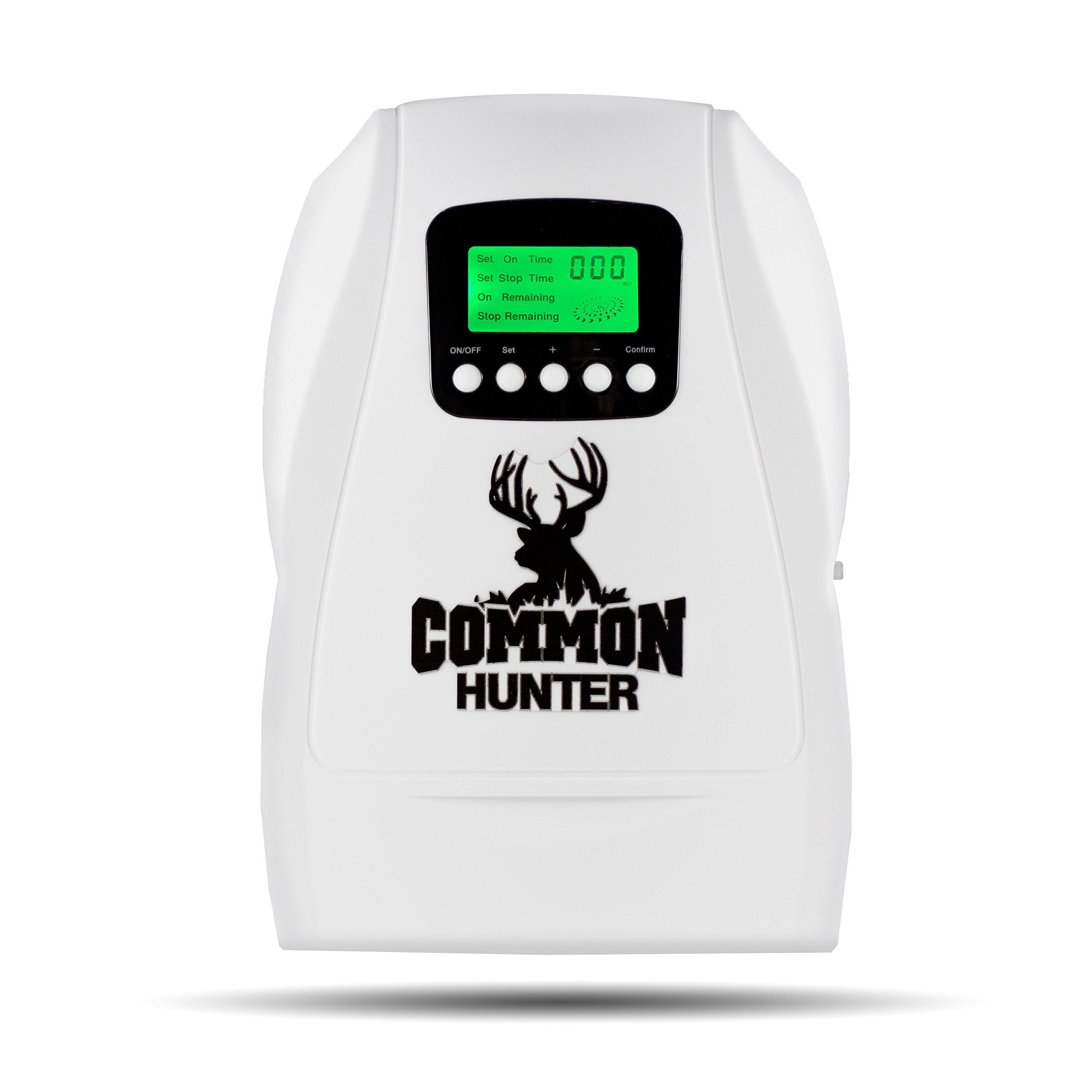 Common Hunter Eliminator O3 Ozone Air Purification Unit - Odor Elimination System for Deer Hunting Gear Bag