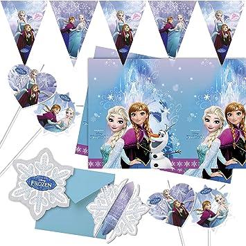 Procos/Carpeta 57 Piezas Set de Fiesta * Frozen Ice Skating ...