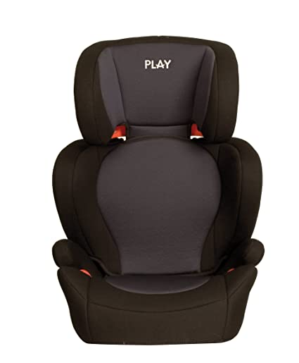 71c37b9b3 Play Safe Two - Silla de coche grupo 2/3, color negro y gris: Amazon ...