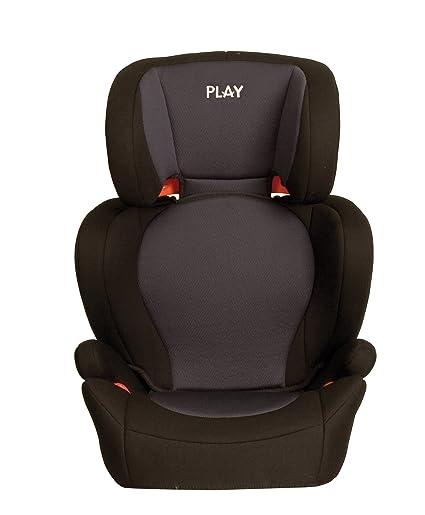 Play Safe Two - Silla de coche grupo 2/3, color negro y gris