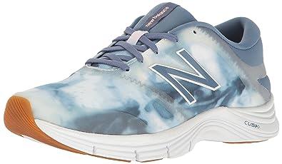 New Balance Women's Cush + 711V2 Graphic Packtraining Cross-Trainer Shoe, Deep  Porcelain Blue