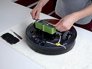 iRobot - Batería de iones de litio (3,300 mAh), color verde: Amazon.es: Hogar
