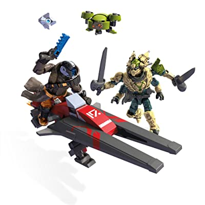 Mega Construx Destiny Sparrow S-10V Building Kit: Toys & Games