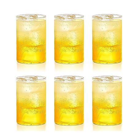 Borosil - Vision Glass Set, 295 ml, Set of 6, Transparent