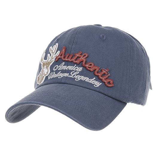 35c6cca3b WITHMOONS Baseball Cap Deer Embroidery Vintage Trucker Hat AC1354 ...