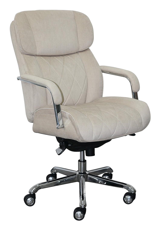 LaZBoy CHR10048D Sutherland Manager Chair, Cream